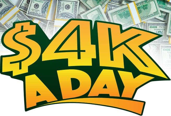 4k a day giveaway number cumulus radio 4k a day giveaway chance to win 1 000 daily 5310