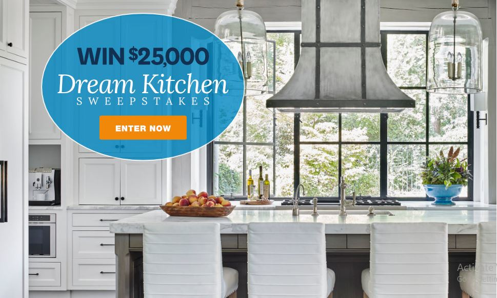 Bhg 25 000 Dream Kitchen Sweepstakes