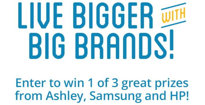 Rent A Center Big Brands Sweepstakes Win Amazing Prizes