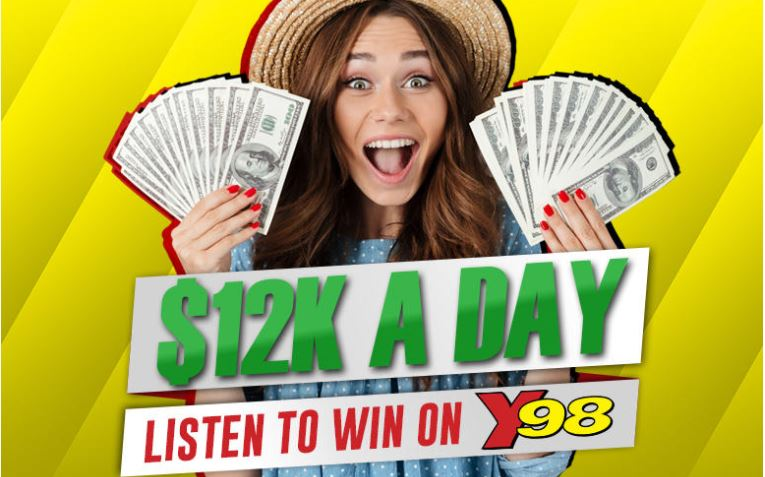 Y98 Contest $12k A Day Giveaway Codeword - Offers Contest