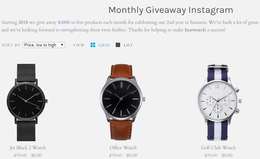 Thompson Monthly Giveaway Winners