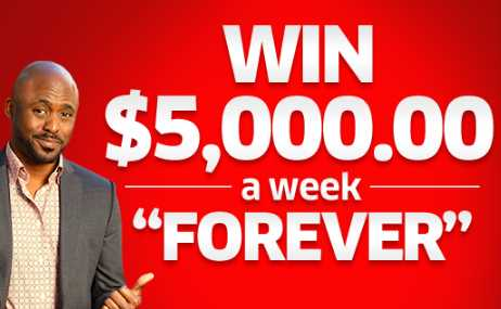 sweepstakes clearinghouse vouchers pch win 5 000 a week forever sweepstakes giveaway no 11000 8118