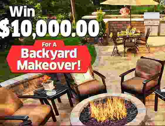 PCH.com Backyard Makeover Giveaway Sweepstakes - Win $10,000